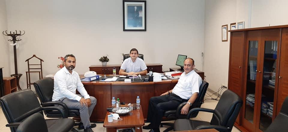 Pendik Telekom Müdürlüğü'ne atanan İbrahim SAĞLAM beyi ziyaret ettik