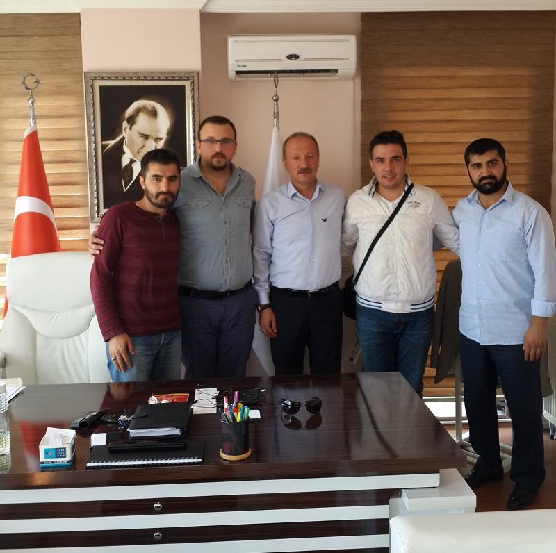 İstanbul 2 Bölge Müdürlüğü Çalışanı Meslektaşlarımız Derneğimiz  Genel Merkezini Ziyaret Etmişlerdir.