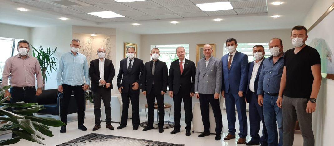 İstanbul Bölge Müdürlüğü'ne atanan Bilal UÇAR bey'i makamında ziyaret ettik