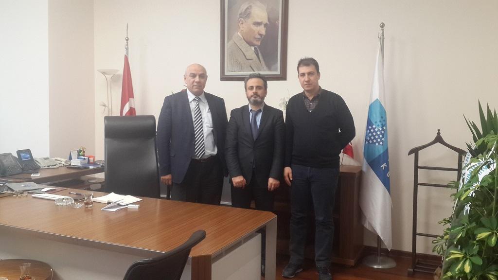 Güney I Bölge Müdürü olarak göreve başlayan Sayın Ercan Ağır Bey'e makamında hayırlı olsun ziyareti gerçekleştirilmiştir.