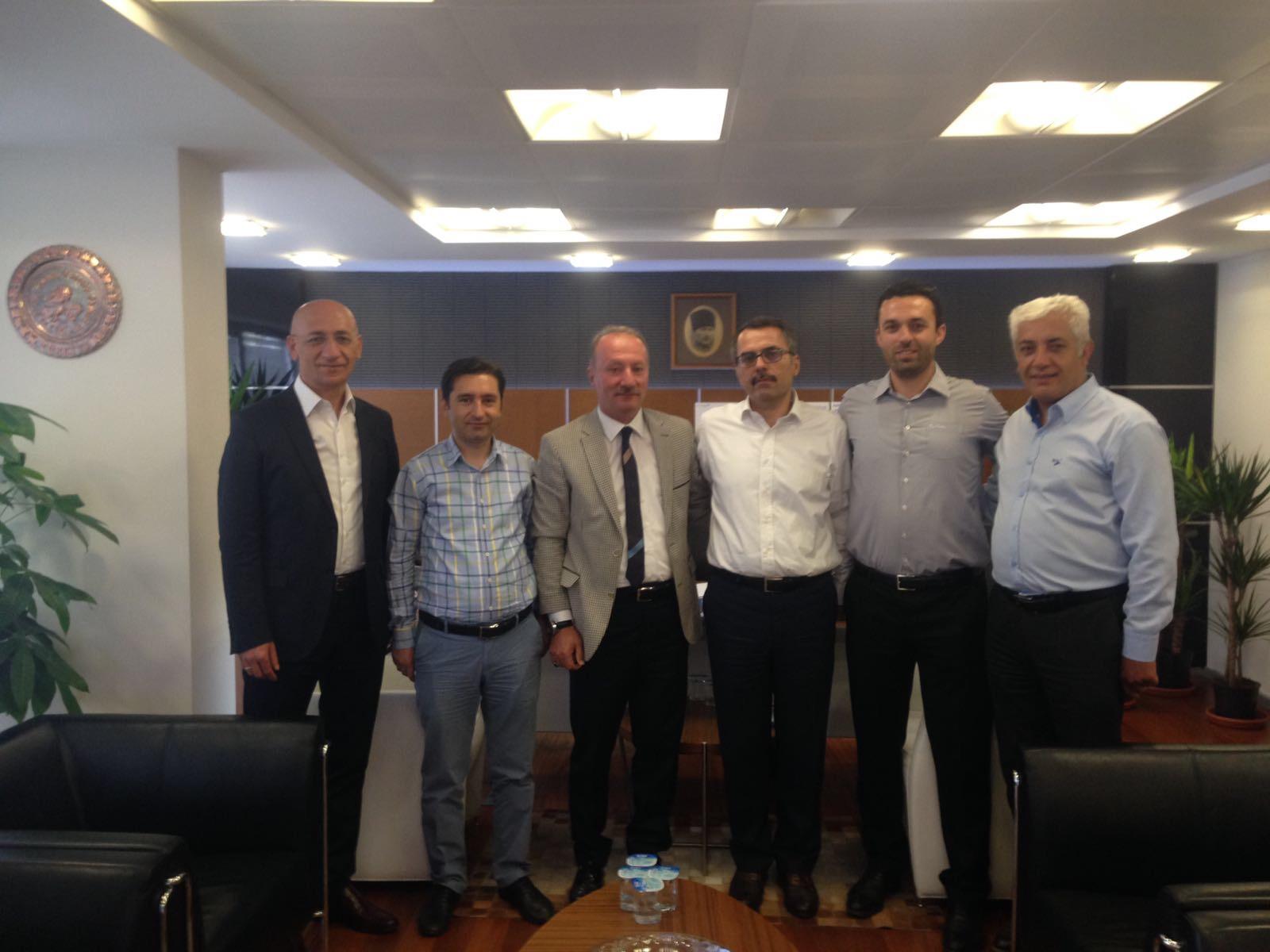 Ankara Bölge Müdürümüz Sn. Ömer Yıldız Makamında Ziyaret Edildi