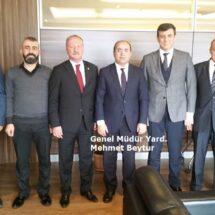 Genel başkanımız ve Yönetim Kurulu Üyelerimiz tarafından ziyaretler gerçekleştirildi.