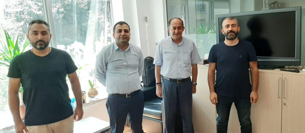 Erişim planlama Müdürü olarak atanan Mehmet Fatih Karakuş bey'i makamında ziyaret ettik