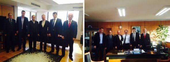 İstanbul I Bölge Müdürümüz Sn. Mehmet BEYTUR ve İstanbul II Bölge Müdürümüz Sn. Ömer YILDIZ Makamlarında Ziyaret Edildi