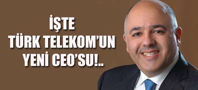 RAMİ ASLAN, TÜRK TELEKOM CEO'SU OLARAK ATANDI