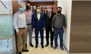 Ankara Bölge Müdürümüz Sn. Adem CAYMAZ Beyi Makamında Ziyaret Ettik